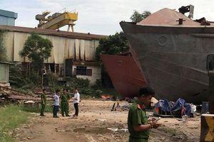 Nổ kinh hoàng tại Công ty đóng tàu An Phú