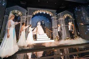 Xuất hiện siêu đám cưới 4,6 tỷ ở Hải Phòng: Chú rể đi 'bạch mã' hiếm đón nàng về dinh