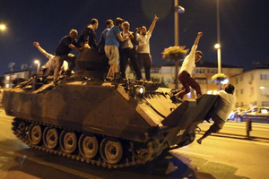 Thổ Nhĩ Kỳ bắt giữ hơn 200 quân nhân liên quan vụ đảo chính năm 2016
