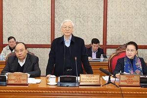 Bộ Chính trị làm việc với Thành ủy Hải Phòng, Đà Nẵng