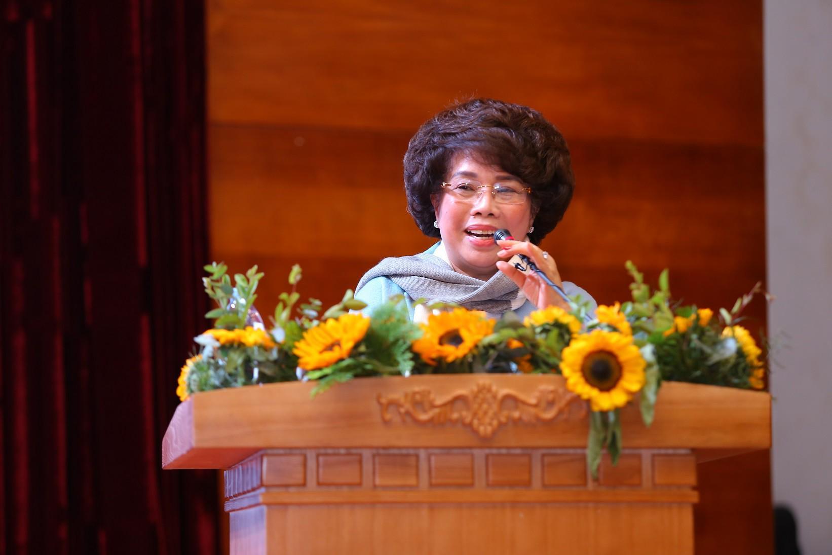 Bà Thái Hương: Lãi đầu tiên là sức khỏe người tiêu dùng, rồi sẽ tới lãi của DN