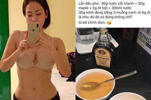 Bí kíp giúp Thu Minh sở hữu vòng eo con kiến ở tuổi 41