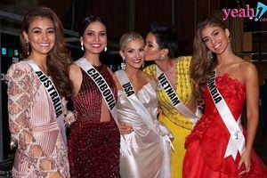Hoa hậu Mỹ lên tiếng xin lỗi vì chế giễu khả năng nói tiếng Anh của H'Hen Niê và Hoa hậu Campuchia