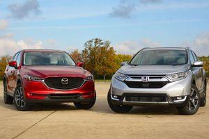 Top 5 xe bán chạy phân khúc CUV tháng 11: Mazda CX-5 cho Honda CR-V 'hít khói'