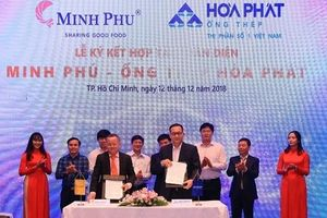 Hòa Phát sẽ cung cấp sản phẩm cho các dự án của 'Vua tôm' Minh Phú