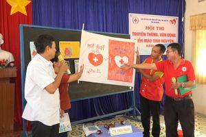 An Giang: Sôi nổi Hội thi truyền thông vận động hiến máu tình nguyện