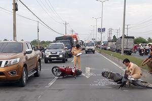 Va chạm giao thông liên hoàn, ùn tắc kéo dài 3 km trên quốc lộ 1