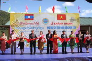 Khánh thành Nhà máy chế biến dong riềng của Việt Nam tại Lào