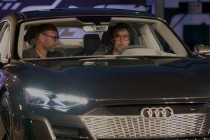 Iron Man Tony Stark tới đại bản doanh Audi bàn về xe điện e-tron GT