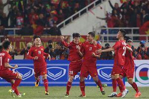 Quang Hải chuyền bóng đẳng cấp, Anh Đức vô-lê mở tỉ số cho ĐT Việt Nam