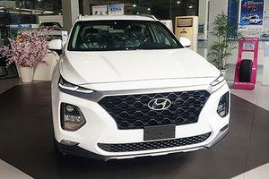 Hyundai SantaFe 2019 'chốt giá' hơn 1 tỷ đồng tại VN