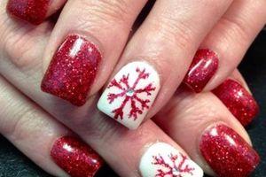 Những mẫu nail Giáng Sinh đẹp xinh để đi chơi Noel