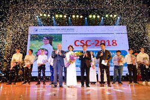 Trao Giải thưởng Sinh viên Tài năng ngành Xây dựng