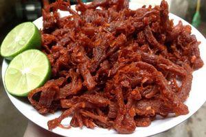 Món ngon mỗi ngày: Thịt lợn giả bò khô bằng chảo đơn giản vô cùng