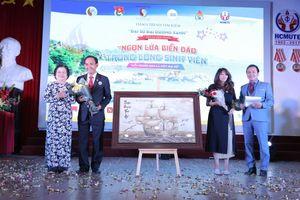 Nguyên Phó Chủ tịch nước Trương Mỹ Hoa 'đánh thức' tình yêu biển đảo giới trẻ trong 'Hành trình tìm kiếm Đại sứ Đại dương xanh'
