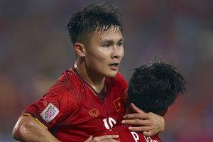 Danh hiệu 'Cầu thủ xuất sắc nhất AFF Cup 2018' gọi tên Quang Hải