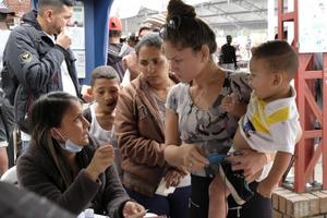 LHQ triển khai kế hoạch khẩn cấp hỗ trợ người di cư Venezuela