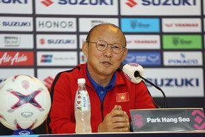 HLV Park Hang Seo nói gì về chức vô địch AFF Cup 2018?