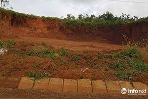 Đắk Nông: Khai thác đất 'lậu' tràn lan, 2 chủ tịch xã bị phê bình