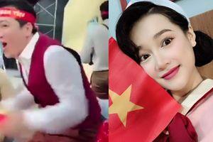 Sao Việt hết mình cổ vũ cho đội tuyển Việt Nam trong trận chung kết lượt về AFF Cup 2018
