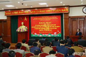 78 công chức Nghệ An tham dự kỳ thi chuyên viên chính