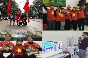 Đội tuyển Việt Nam vô địch AFF, các gia đình bỉm sữa cổ vũ 'siêu đáng yêu' bùng nổ ăn mừng chiến thắng của các chiến binh áo đỏ