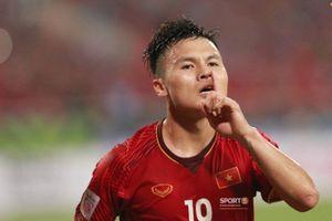 Quang Hải xuất sắc đoạt giải thưởng 'Cầu thủ hay nhất AFF Cup 2018'