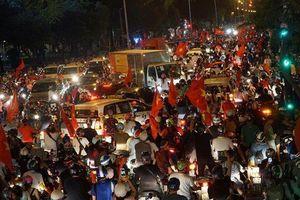 Hà Nội cấm ô tô trên 20 tuyến đường phục vụ chung kết AFF Cup