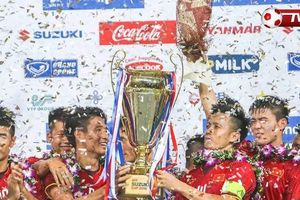 Ảnh chế đội tuyển Việt Nam vô địch AFF Cup 2018 khiến dân mạng phấn khích