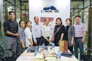 Nông sản LangBiang xúc tiến đưa cà phê Lâm Đồng sang Hàn Quốc