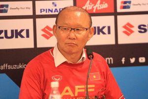 HLV Park Hang-seo xúc động nói về chức vô địch của Việt Nam