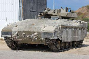 Xe bộ binh chiến đấu Namer Israel được nâng cấp tháp pháo và tên lửa chống tăng điều khiển từ xa
