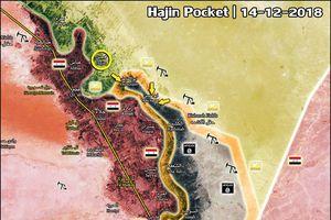Cận cảnh dân quân người Kurd đánh chiếm thị trấn Hajin, Deir Ezzor