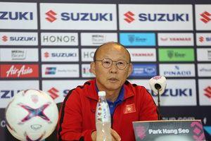 Thầy Park phủ nhận cáo buộc tuyển Việt Nam đá xấu