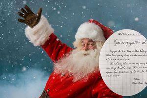 Từ bức thư gửi ông già Noel của bạn nhỏ học lớp 2, dân mạng được dịp nhớ lại một thời tin sái cổ ông già Noel là có thật