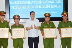 Cảnh sát hình sự Công an Tiền Giang: Xuất sắc phá nhanh nhiều vụ 'án nóng'