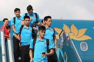 Tuyển Việt Nam trở lại Hà Nội chuẩn bị cho trận tái đấu Malaysia
