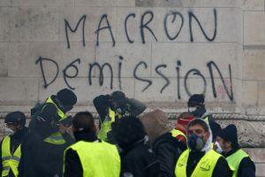Phong trào 'Áo vàng' chuẩn bị biểu tình quy mô lớn đòi Tổng thống Macron từ chức