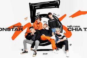 5 chàng soái ca Monstar hứa hẹn sẽ gây 'thương nhớ' qua màn trình diễn liên tiếp 3 ca khúc vào giữa tháng 12 này