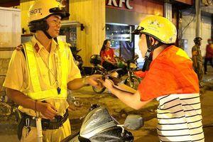 Gần 120 phương tiện bị tạm giữ vì đi bão 'quá khích' trong đêm ở Sài Gòn
