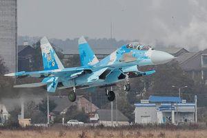 Tiêm kích Su-27 của Ukraine gặp nạn, phi công thiệt mạng