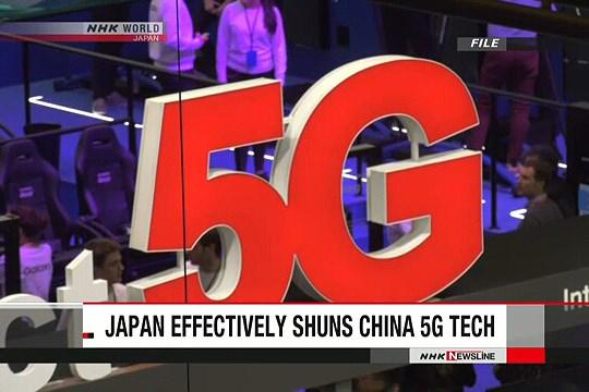 Nhật Bản tránh dùng công nghệ 5G của Trung Quốc