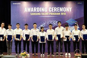 Đã có 68 sinh viên PTIT nhận được học bổng 'Tài năng Samsung'