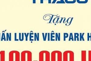 Thaco nâng gấp đôi mức thưởng lên 2 tỷ đồng cho đội tuyển Việt Nam