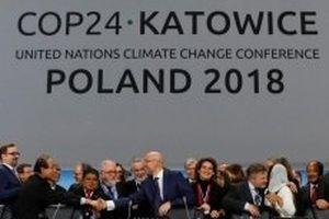 Gần 200 quốc gia nhất trí nguyên tắc của thỏa thuận khí hậu toàn cầu