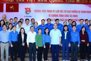 Thành đoàn TP HCM cần đổi mới cách triển khai phong trào
