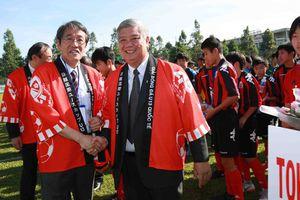 Tổng lãnh sự Nhật Bản chúc mừng Việt Nam vô địch AFF Cup 2018