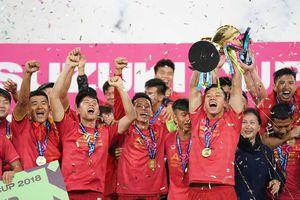 Tuyển Việt Nam sẽ tranh chức vô địch AFF-EAFF Champions Trophy với Hàn Quốc