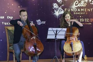 Hòa nhạc cello quốc tế hỗ trợ tài năng trẻ