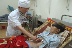Trời rét, gia tăng bệnh nhân mắc phổi tắc nghẽn mãn tính